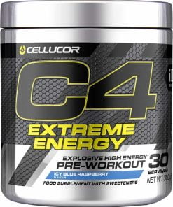 C4 Extreme Energy, Icy Blue Raspberry – 300 grams Nitric Oxide Boosters UKTSG bodybuilding supplements
