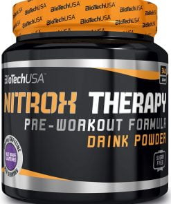 Nitrox Therapy, Blue Grape – 340 grams Nitric Oxide Boosters UKTSG bodybuilding supplements