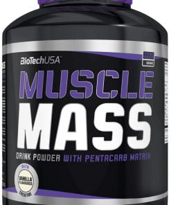 Muscle Mass, Strawberry – 2270 grams Weight Gainers & Carbs UKTSG bodybuilding supplements