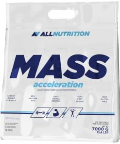 Mass Acceleration, Strawberry – 7000 grams Weight Gainers & Carbs UKTSG bodybuilding supplements