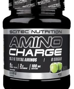 Amino Charge, Peach – 570 grams Amino Acids and BCAAs UKTSG bodybuilding supplements