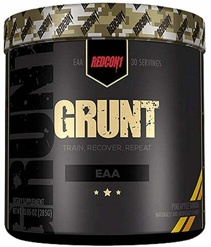 Grunt – EAA, Cherry Lime – 285 grams Amino Acids and BCAAs UKTSG bodybuilding supplements