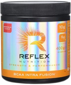BCAA Intra Fusion, Fruit Punch – 400 grams Amino Acids and BCAAs UKTSG bodybuilding supplements