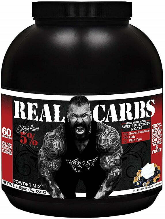 Real Carbs, Banana Nut Bread – 1860 grams Weight Gainers & Carbs UKTSG bodybuilding supplements