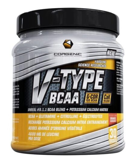 V-Type BCAA, Black Tea Peach – 390 grams all products on buy tester UKTSG bodybuilding supplements