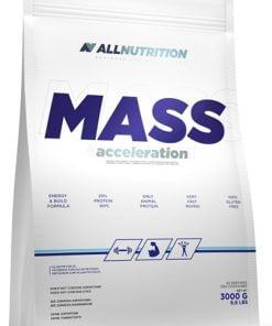 Mass Acceleration, Strawberry – 3000 grams Weight Gainers & Carbs UKTSG bodybuilding supplements