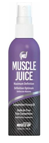 Muscle Juice, Competition Posing Oil Spray – 118 ml. Stacks & Kits UKTSG bodybuilding supplements