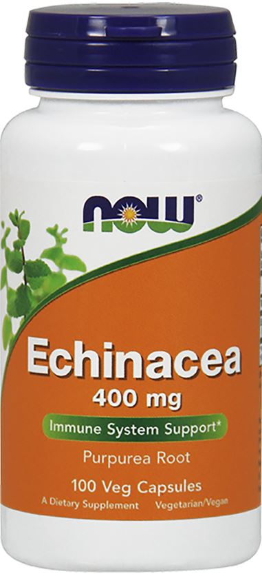 Echinacea, 400mg – 100 vcaps Health and Wellbeing UKTSG bodybuilding supplements