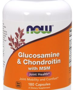 Glucosamine & Chondroitin with MSM – 180 caps Joint Support UKTSG bodybuilding supplements