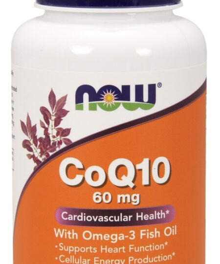 CoQ10 with Omega-3, 60mg – 120 softgels Health and Wellbeing UKTSG bodybuilding supplements