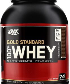 Gold Standard 100% Whey, Double Rich Chocolate – 2263 grams Stacks & Kits UKTSG bodybuilding supplements