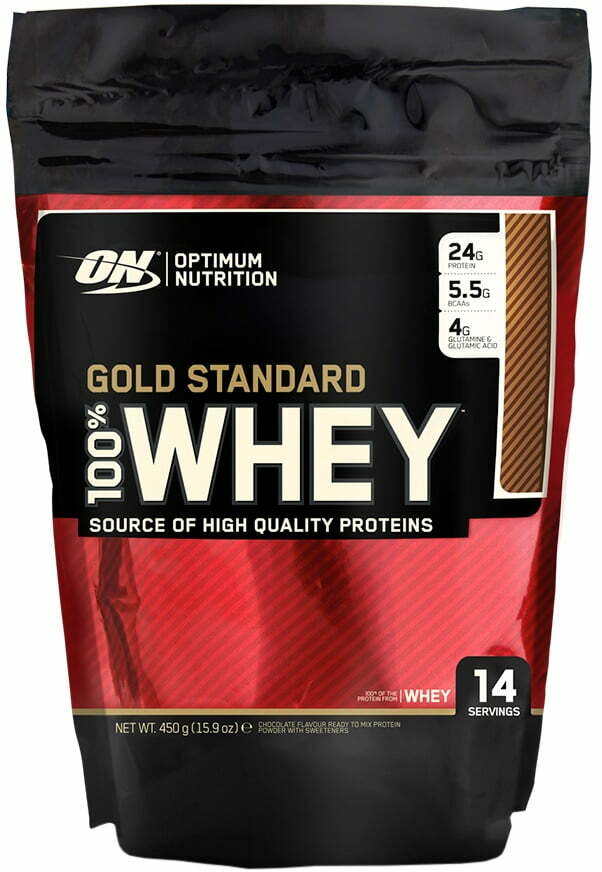 Gold Standard 100% Whey, Double Rich Chocolate – 450 grams Stacks & Kits UKTSG bodybuilding supplements