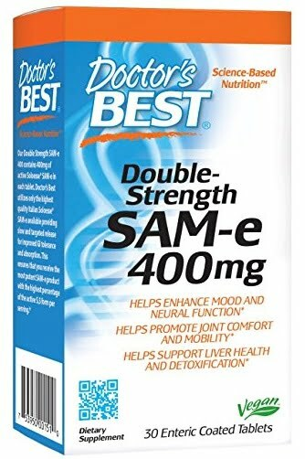 SAM-e, 400mg Double-Strength – 30 tablets Joint Support UKTSG bodybuilding supplements