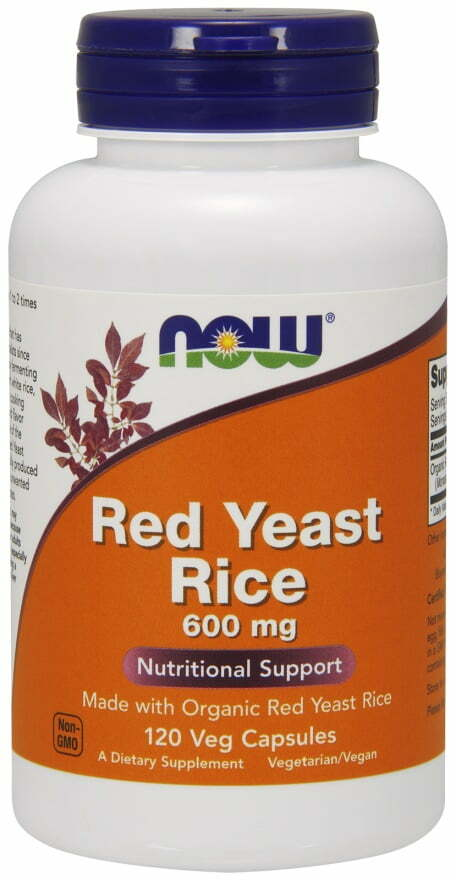 Red Yeast Rice, 600mg – 120 vcaps Health and Wellbeing UKTSG bodybuilding supplements
