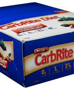 Doctor's CarbRite Diet Bars, Chocolate Peanut Butter – 12 bars all products on buy tester UKTSG bodybuilding supplements