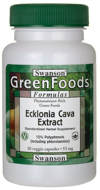 Ecklonia Cava Extract, 53mg – 30 vcaps Health and Wellbeing UKTSG bodybuilding supplements