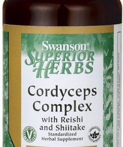 Cordyceps Complex with Reishi and Shiitake – 60 vcaps Health and Wellbeing UKTSG bodybuilding supplements