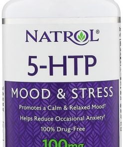 5-HTP, 100mg – 30 caps Health and Wellbeing UKTSG bodybuilding supplements