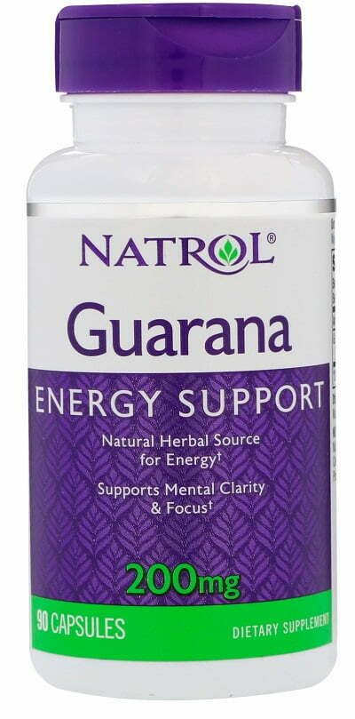 Guarana, 200mg – 90 caps Slimming and Weight Management UKTSG bodybuilding supplements