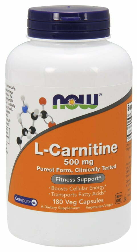 L-Carnitine, 500mg – 180 vcaps Amino Acids and BCAAs UKTSG bodybuilding supplements