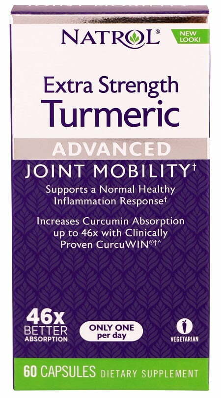 Turmeric, Extra Strength – 60 caps Joint Support UKTSG bodybuilding supplements
