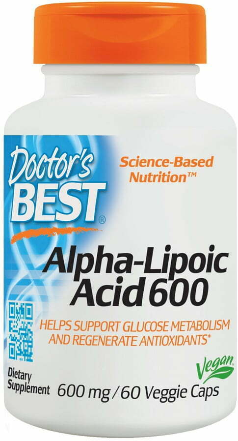 Alpha Lipoic Acid, 600mg – 60 vcaps Health and Wellbeing UKTSG bodybuilding supplements