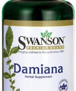 Damiana, 510mg – 100 caps Health and Wellbeing UKTSG bodybuilding supplements