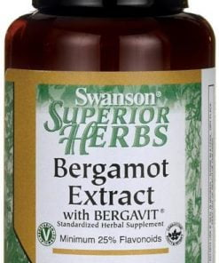 Bergamot Extract with BERGAVIT, 500mg – 30 vcaps Health and Wellbeing UKTSG bodybuilding supplements