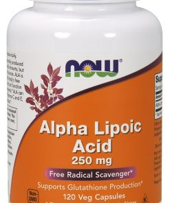 Alpha Lipoic Acid, 250mg – 120 vcaps Health and Wellbeing UKTSG bodybuilding supplements