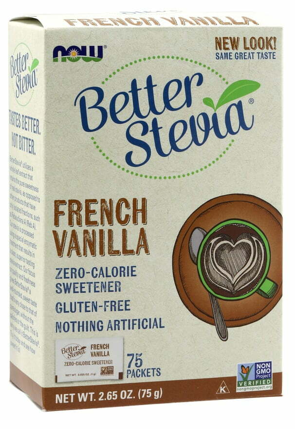 Better Stevia Packets, French Vanilla – 75 packets Health Foods UKTSG bodybuilding supplements