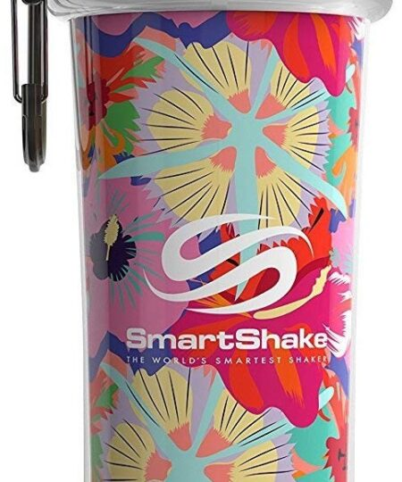 Double Wall Shaker Cup, Flower Power (Tropical Red) – 750 ml. Accessories UKTSG bodybuilding supplements