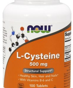 L-Cysteine, 500mg – 100 tablets Amino Acids and BCAAs UKTSG bodybuilding supplements