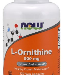 L-Ornithine, 500mg – 120 vcaps Amino Acids and BCAAs UKTSG bodybuilding supplements