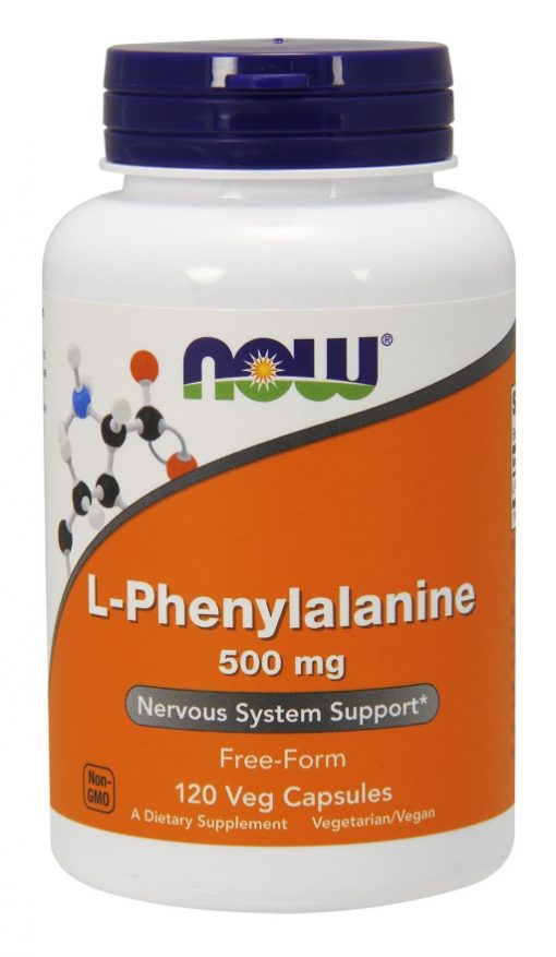 L-Phenylalanine, 500mg – 120 vcaps Amino Acids and BCAAs UKTSG bodybuilding supplements