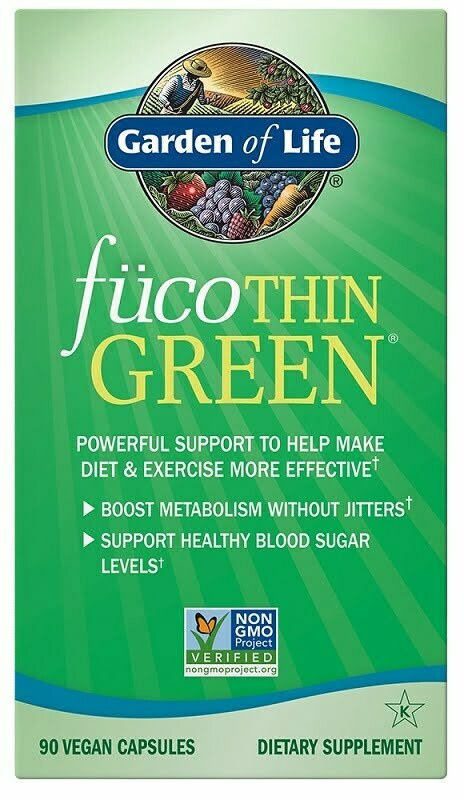 FucoThin Green – 90 vcaps Slimming and Weight Management UKTSG bodybuilding supplements