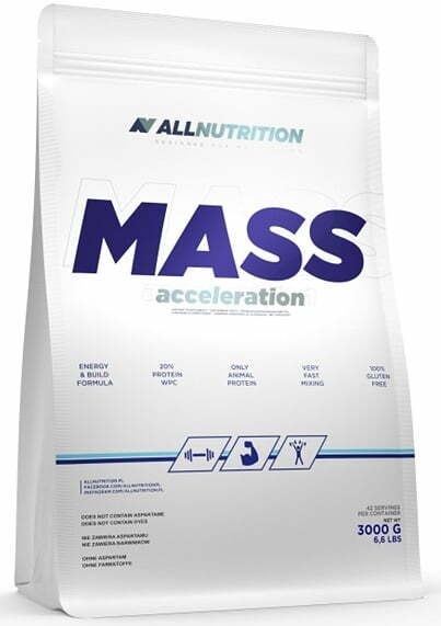 Mass Acceleration, Chocolate – 3000 grams Weight Gainers & Carbs UKTSG bodybuilding supplements