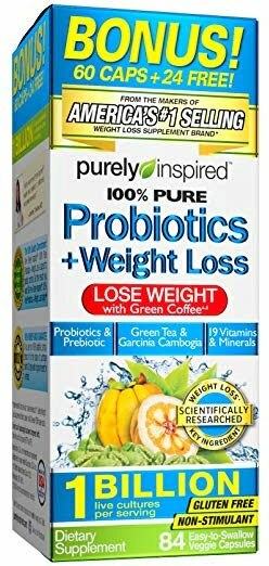 Probiotics + Weight Loss – 84 vcaps Slimming and Weight Management UKTSG bodybuilding supplements