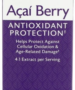 Acai Berry, 1000mg – 75 vcaps Health and Wellbeing UKTSG bodybuilding supplements
