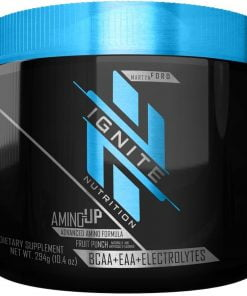 Amino Up, Fruit Punch – 294 grams Amino Acids and BCAAs UKTSG bodybuilding supplements