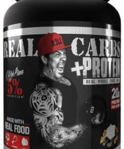 Real Carbs + Protein, Banana Nut Bread – 1430 grams Weight Gainers & Carbs UKTSG bodybuilding supplements