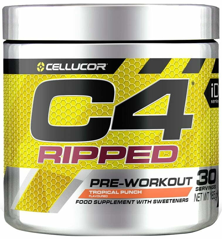 C4 Ripped, Icy Blue Raz – 165 grams Nitric Oxide Boosters UKTSG bodybuilding supplements