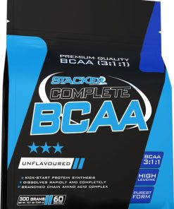 Complete BCAA, Fruit Punch – 300 grams Amino Acids and BCAAs UKTSG bodybuilding supplements