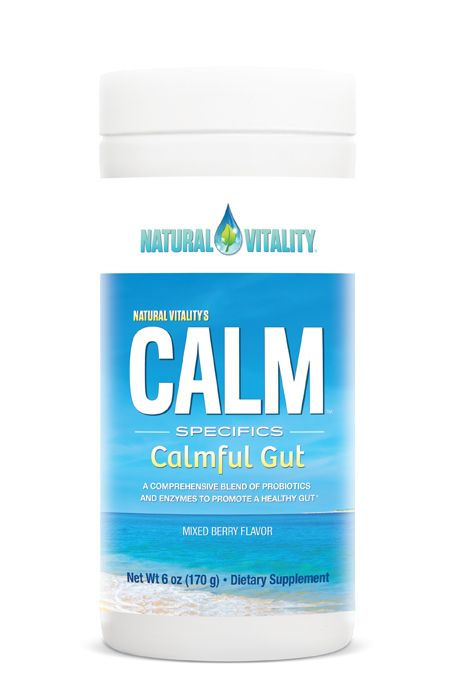 Natural Vitality Calm Specifics, Calmful Gut – 170 grams Health and Wellbeing UKTSG bodybuilding supplements