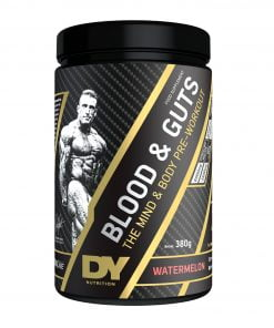 Blood and Guts, Blueberry – 380 grams Pre & Post Workout UKTSG bodybuilding supplements