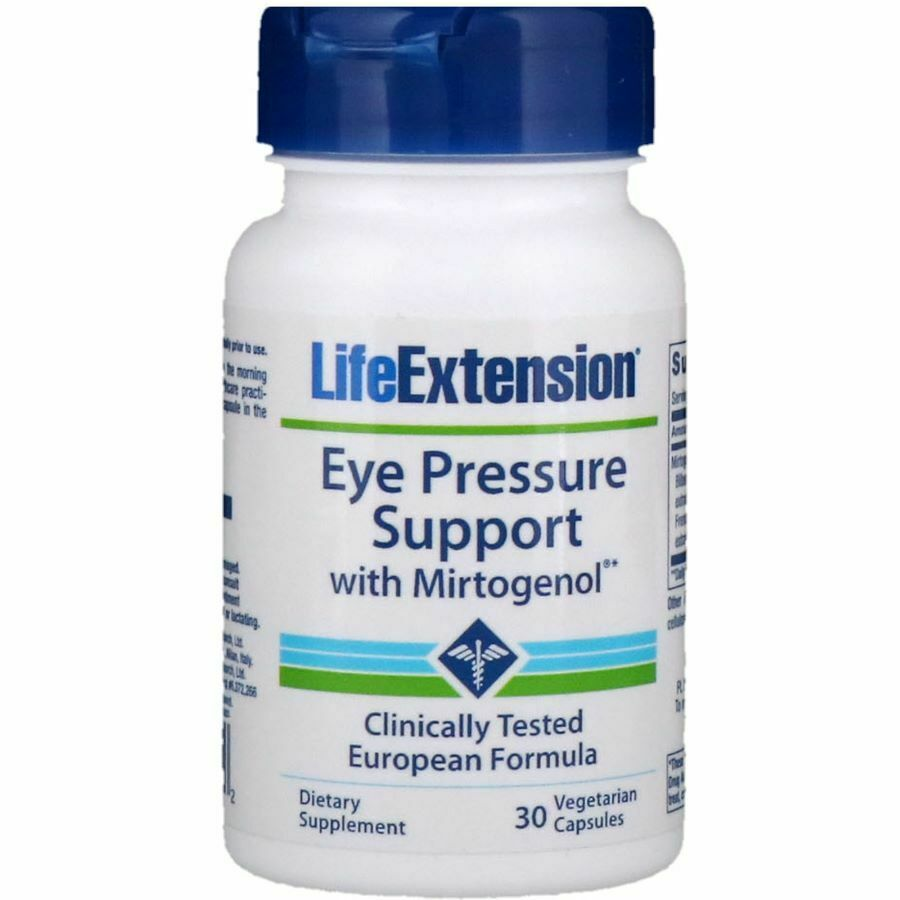 Eye Pressure Support with Mirtogenol – 30 vcaps Health and Wellbeing UKTSG bodybuilding supplements
