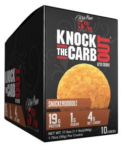 Knock The Carb Out Keto Cookie, Snickerdoodle – 10 cookies Health Foods UKTSG bodybuilding supplements