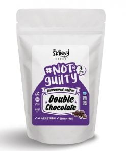 Not Guilty Flavoured Instant Coffee, Double Chocolate – 50 grams Drinks and Shakes UKTSG bodybuilding supplements
