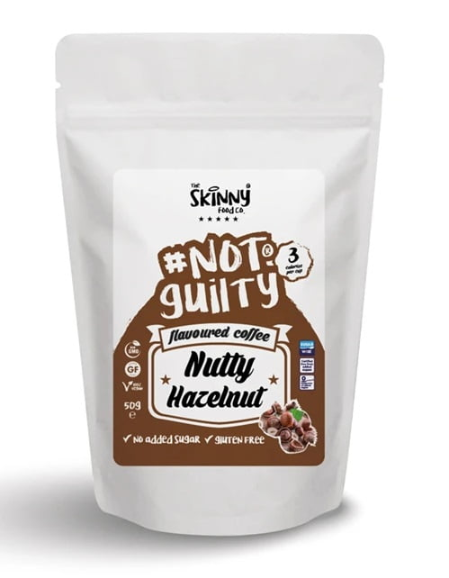 Not Guilty Flavoured Instant Coffee, Hazelnut – 50 grams Drinks and Shakes UKTSG bodybuilding supplements