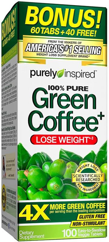 Green Coffee – 100 tablets Slimming and Weight Management UKTSG bodybuilding supplements
