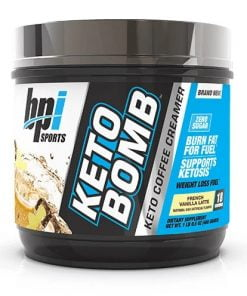 Keto Bomb, French Vanilla Late – 468 grams Slimming and Weight Management UKTSG bodybuilding supplements